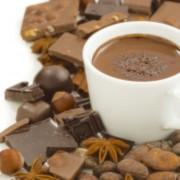 バレンタインには趣向を変えて、チョコレートドリンクをプレゼント