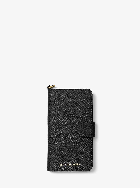 ELECTRONIC LEATHER フォリオ スマホカバー iPhone 7|MICHAEL KORS