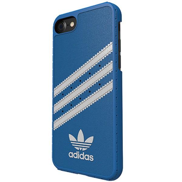 アディダス オリジナルス iPhone7 ケース ブルー ホワイト