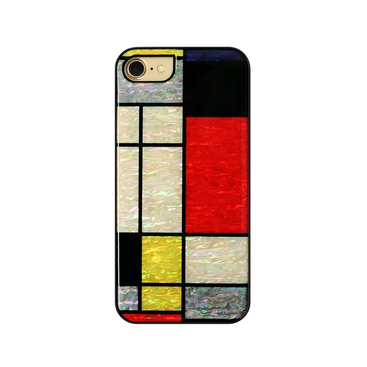 iPhone 8 / 7ケース ikins 天然貝ケース 幾何学デザイン