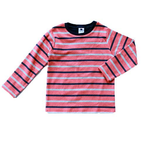 マルチボーダー長袖Tシャツ 80-150cm