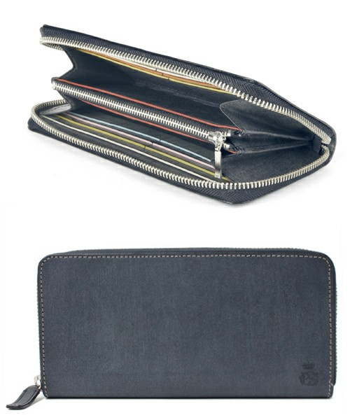 LONG BILLFOLD AND COIN WALLET(PC WAX)