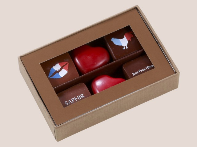 ボワットゥ ショコラ 6個入 フレンチ キス