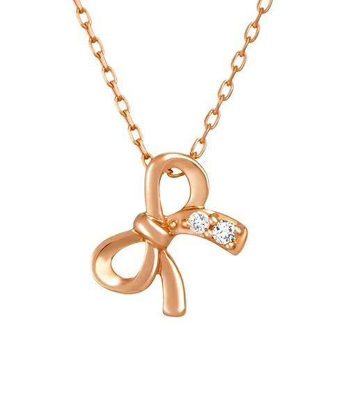 K10ピンクゴールド ネックレス