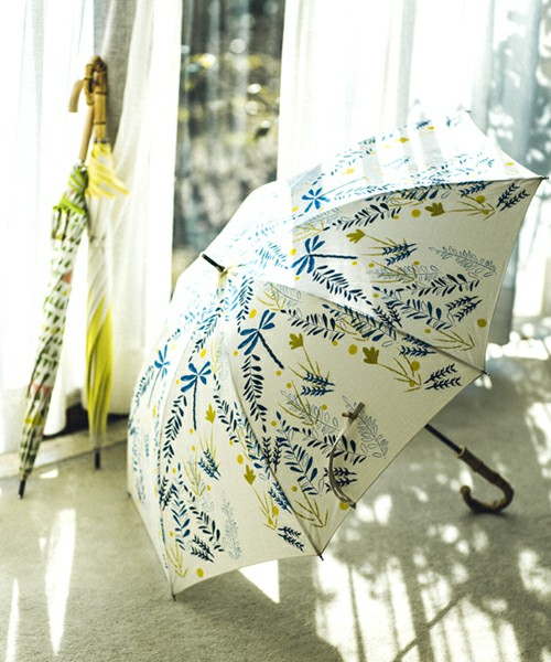 【晴雨兼用】草木 長傘