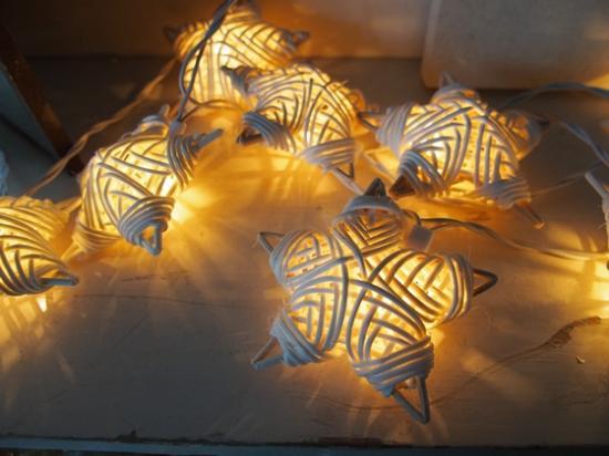 star lights rattan