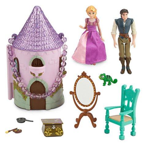 ディズニープリンセス Disney Princess ラプンツェル Rapunzel キッズ 子供 おもちゃ プリンセス ミニ キャッスル プレイセット