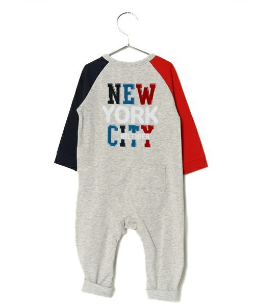CITY BABY BOY COVERALL L/S