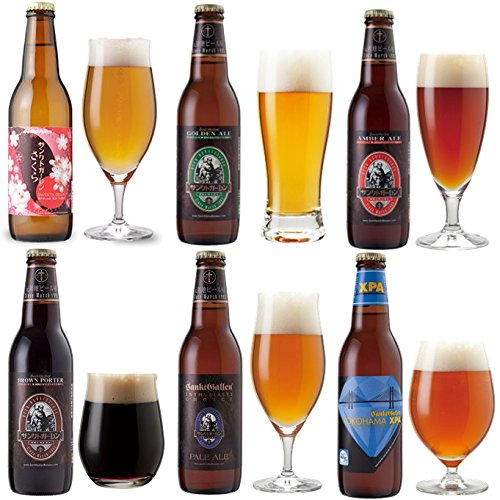 <春限定サンクトガーレン さくら入>クラフトビール 6種 330ml×6本 飲み比べセット