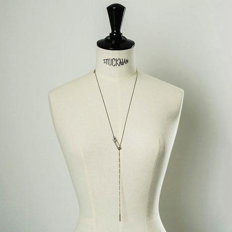 Safety pin lariat (Bijou)