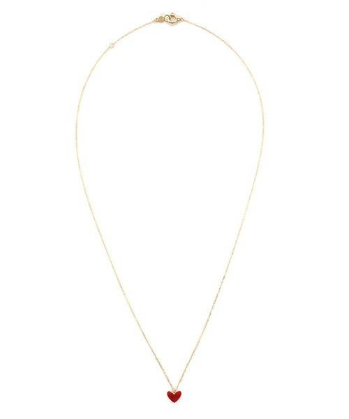 ティランハート(レッド)ネックレス