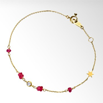 STAR JEWELRY Girl RUBY BRACELET