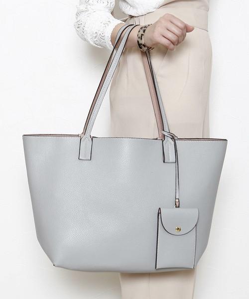 【PLAIN CLOTHING】リバーシブルトートバッグ