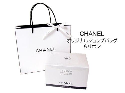 CHANEL(シャネル)LE COTON ロゴ入りオーガニックコットン 100枚入