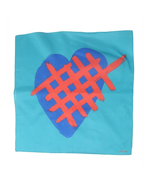 """HEART COLLECTION"" PRINT HANDKERCHIEF/ 160884 HANK"