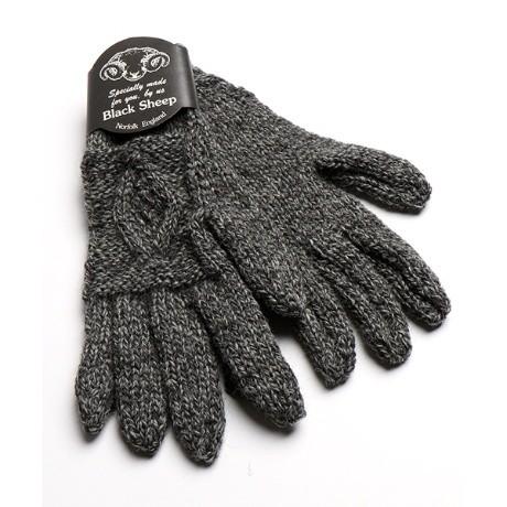 ブラックシープ HAND KNIT ARANS