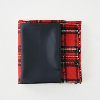 「シンプルスカート」布のセット ロイヤルスチュアート
