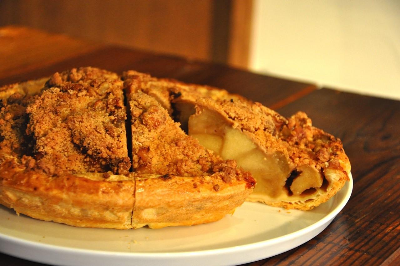 【GRANNY SMITH(グラニースミス)APPLE PIE & COFFEEの手作りアップルパイ】DUTCH CRUMBLE (ダッチクランブル)