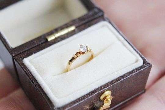 Baby Ring Diamond|ダイヤモンド