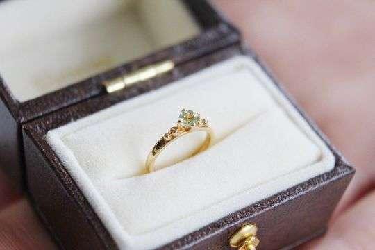 Baby Ring Peridot|ペリドット