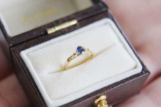 Baby Ring Sapphire|サファイア