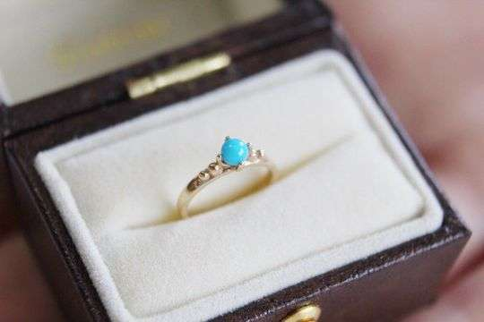 Baby Ring Turquoise|ターコイズ