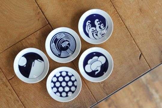 KOMON 豆皿 5枚セット 季節紋