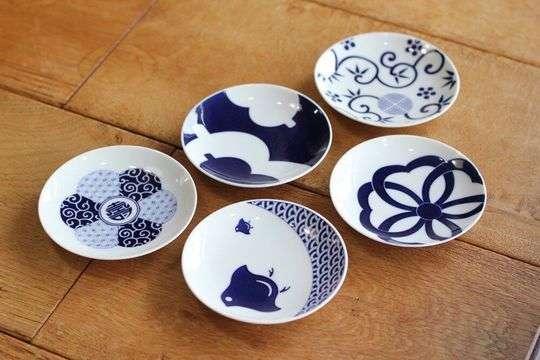 KOMON 豆皿 5枚セット 吉祥紋