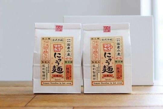 マグカップにゅう麺|坂利製麺所