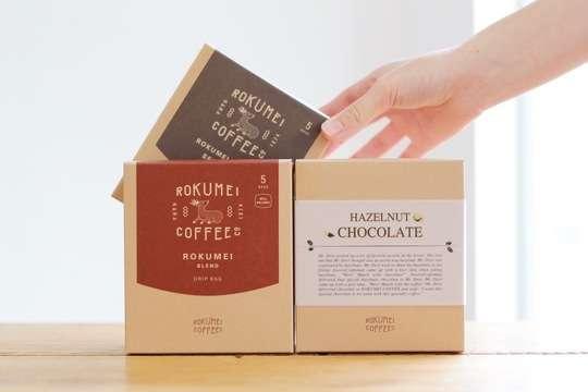 ロクメイコーヒーとチョコレートギフト