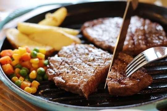 近江牛ももステーキ