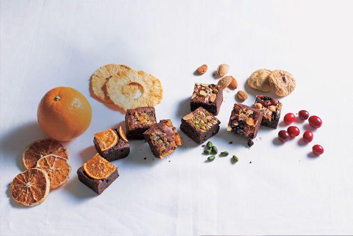 プレゼント「ナッツとドライフルーツの贅沢ブラウニー9個」の写真
