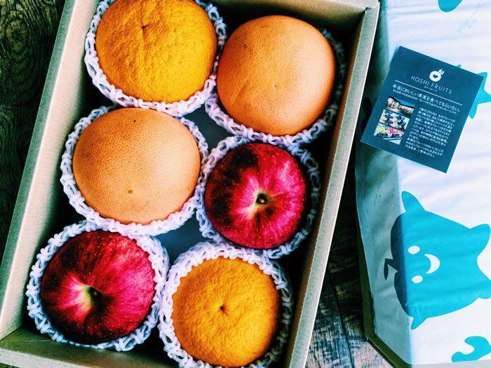 プレゼント「ホシフルーツ おまかせ旬のフルーツBOX C」の写真