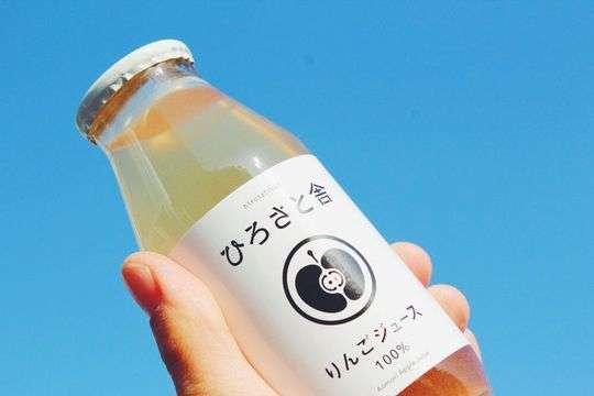 青森県産ブレンドりんごジュース
