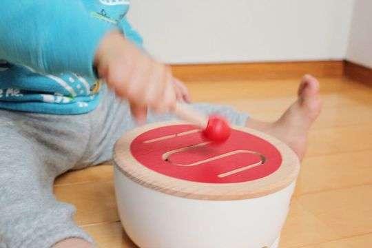木製おもちゃ ドラム|BRIO