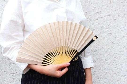 ジャパンギャルド扇子 花